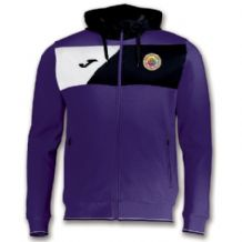 Le Cheile SS Crew II Hoodie Jacket Purple/Black - Youth